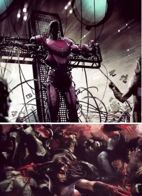 x-men quadrinhos- Dias de um futuro esquecido
